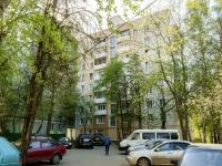 Черёмушки район, Нахимовский проспект, дом 41 к.1. многоквартирный дом