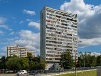 Черёмушки район, улица Обручева, дом 35 к.2. многоквартирный дом