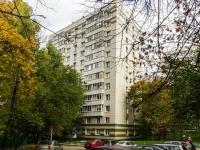 Черёмушки район, улица Обручева, дом 49. многоквартирный дом