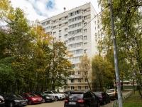 Черёмушки район, улица Обручева, дом 59. многоквартирный дом