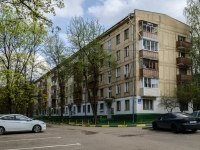 Черёмушки район, улица Перекопская, дом 17 к.3. многоквартирный дом
