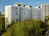 Черёмушки район, улица Перекопская, дом 21 к.1. многоквартирный дом