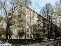 Черёмушки район, улица Перекопская, дом 25 к.1. многоквартирный дом