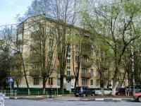 Черёмушки район, улица Перекопская, дом 27 к.1. многоквартирный дом