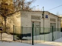 Черёмушки район, Севастопольский проспект, дом 36 с.1. хозяйственный корпус