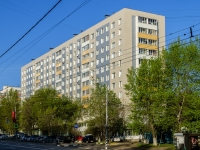 Черёмушки район, Севастопольский проспект, дом 42. многоквартирный дом