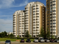 Южное Бутово район, улица Академика Понтрягина, дом 25. многоквартирный дом