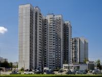 Южное Бутово район, Адмирала Ушакова бульвар, дом 3. многоквартирный дом
