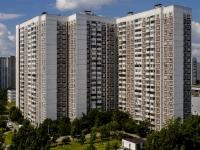 Южное Бутово район, Адмирала Ушакова бульвар, дом 9. многоквартирный дом