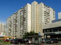 Южное Бутово район, Адмирала Ушакова бульвар, дом 18. многоквартирный дом