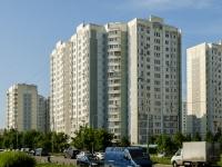 Южное Бутово район, улица Витте аллея, дом 8. многоквартирный дом
