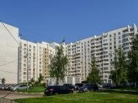 район Южное Бутово, улица Бартеневская, дом 57. многоквартирный дом