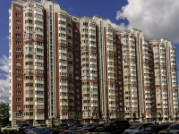 Южное Бутово район, Бутово парк (д. Бутово) микрорайон, дом 2. многоквартирный дом