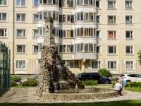 """улица Кадырова. фонтан """"Крепость"""""""
