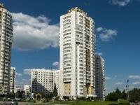 район Южное Бутово, улица Скобелевская, дом 5 к.1. многоквартирный дом