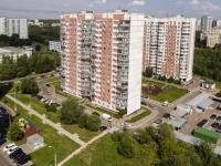 район Ясенево, улица Вильнюсская, дом 15. многоквартирный дом