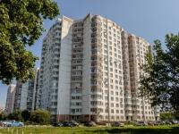 район Ясенево, улица Вильнюсская, дом 17. многоквартирный дом