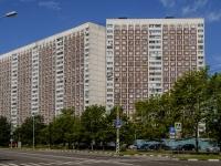 район Ясенево, Литовский бульвар, дом 1. многоквартирный дом
