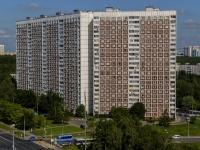 район Ясенево, Литовский бульвар, дом 5/10. многоквартирный дом