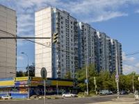район Ясенево, Литовский бульвар, дом 18. многоквартирный дом
