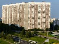 район Ясенево, Литовский бульвар, дом 19. многоквартирный дом