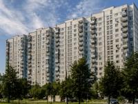 район Ясенево, Литовский бульвар, дом 34. многоквартирный дом