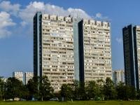 район Ясенево, улица Ясногорская, дом 17 к.1. многоквартирный дом