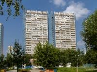 район Ясенево, улица Ясногорская, дом 21 к.1. многоквартирный дом