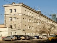 улица Дениса Давыдова, дом 2. офисное здание Филевский автобусно-троллейбусный парк, ГУП Мосгортранс