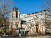Дорогомилово, проезд Кутузовский, дом 3. храм Храм-часовня Михаила Архангела близ Кутузовской избы