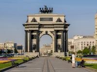 площадь Победы. памятник Триумфальные ворота