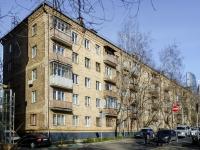 Дорогомилово, Дохтуровский переулок, дом 2. многоквартирный дом