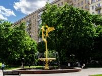 "Украинский бульвар. фонтан ""Девушка"""