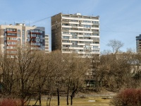 Раменки, 2-й Мосфильмовский переулок, дом 12. многоквартирный дом