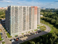 , st Muravskaya, house 42 к.2. Apartment house