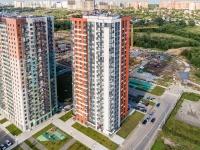 , st Muravskaya, house 42 к.3. Apartment house