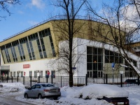 , st Gabrichevskogo. sport center