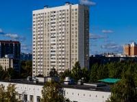 Северное Тушино, улица Туристская, дом 10 к.1. многоквартирный дом
