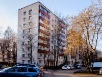Северное Тушино, улица Туристская, дом 24 к.2. многоквартирный дом