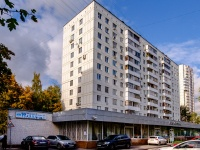 Северное Тушино, улица Туристская, дом 31 к.1. многоквартирный дом