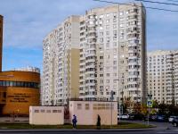Северное Тушино, улица Туристская, дом 33 к.1. многоквартирный дом