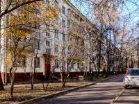 Северное Тушино, улица Фомичёвой, дом 4. многоквартирный дом