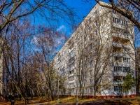 Северное Тушино, улица Фомичёвой, дом 14 к.3. многоквартирный дом