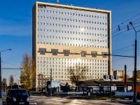 Южное Тушино, улица Свободы, дом 57 к.1. офисное здание