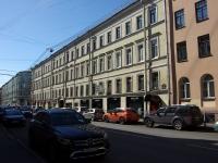 , Voznesenskiy avenue, 房屋 22. 公寓楼