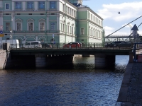 , square Teatralnaya. bridge