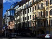 , avenue Rimsky-Korsakov, house 3. Apartment house