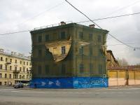 , avenue Rimsky-Korsakov, house 22. building under reconstruction
