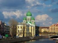 , avenue Rimsky-Korsakov, house 24А. temple
