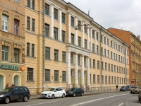 , avenue Rimsky-Korsakov, house 69. vacant building